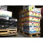 В паперові ящики  складаємо - саджанці в горщиках, живці, або збірні замовлення.